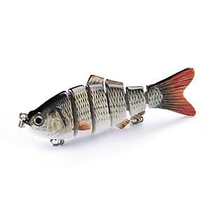 ieftine Momeală Pescuit-1 pcs Cutie unelte Δόλωμα Momeală Dură Plevușcă Broască Bass Păstrăv Ştiucă Momeală pescuit Plastic