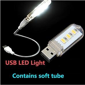 ieftine Lumini & Gadget-uri LED-Lampă LED De Citit / LED-uri de lumină de noapte Decorativ USD 1 buc