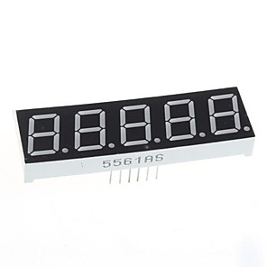 ieftine Afișaje-compatibil (pentru Arduino) de 5 cifre de afișare modul - 0.56in.
