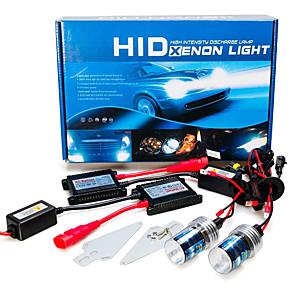 ieftine Faruri de Mașină-Kit 12V 55W H8 AC Hid Xenon de conversie 6000K