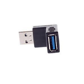 ieftine USB-uri-USB 3.0 m f transmisie video conector / unghi drept