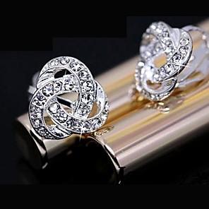 ieftine Cercei-Pentru femei Cercei Stud femei Cristal Casul / Zilnic Modă Ștras cercei Bijuterii Pentru Zilnic
