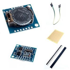 ieftine Senzori-I2C ds1307 modul ceas de timp real mica RTC 2560 uno R3 și accesorii pentru Arduino