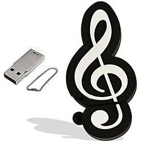 povoljno Muški satovi-mravi glazba note USB flash drive usb 2.0 64g 8g glazbeni instrumenti memory stick crtani plastični prijenosni pendrive