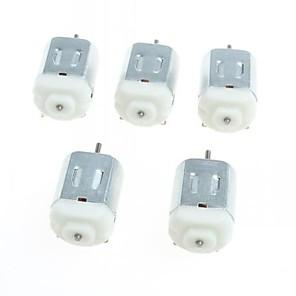 ieftine Întrerupătoare-130 motoare de curent continuu în miniatură cu motor mic motor mic pe patru roți (5pcs)