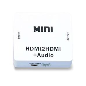 ieftine Îngrijire Unghii-HDMI 1080p extractor audio splitter HDMI 1.4 digitale la analogic 3.5mm afară adaptor audio