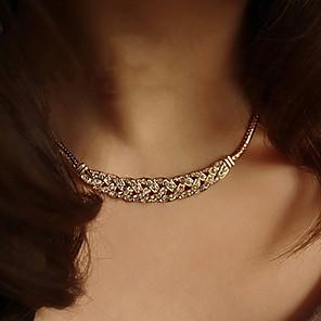 ieftine Ustensile & Gadget-uri de Copt-Pentru femei Coliere Choker Vintage Colier tatuaj cravată femei Stil Tatuaj Modă Argilă Placat Auriu Argintiu Auriu Coliere Bijuterii 1 buc Pentru Nuntă Petrecere Zilnic Casual