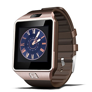 cheap Smart watches-DZ09 Men Smartwatch Android Bluetooth USB Touch Screen Calories Burned Long Standby Distance Tracking Pedometers Timer Call Reminder Activity Tracker Sleep Tracker Sedentary Reminder / Find My Device
