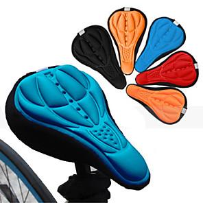 ieftine Cercei-Husă Șa Scaun Respirabil Comfort 3D Pad Silicon silicagel Ciclism Bicicletă șosea Bicicletă montană Negru Portocaliu Rosu