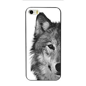 ieftine Jucării Câini-Maska Pentru Apple iPhone 8 Plus / iPhone 8 / iPhone 6s Plus Model Capac Spate Animal Greu PC