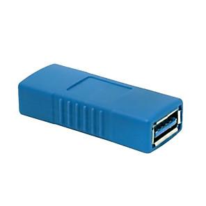 ieftine USB-uri-USB 3.0 de tip o femeie la adaptorul de sex feminin conector schimbător de cuplare