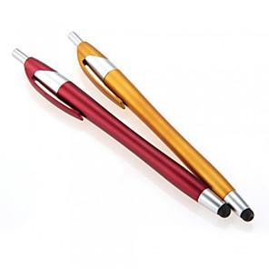 ieftine Decorațiuni Mobil-kinston® 2 x 2in1 ecran tactil capacitiv stylus pix cu pix pentru iPhone / iPod / iPad / Samsung si alte