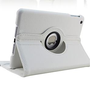 povoljno iPhone futrole/maske-Θήκη Za Apple iPad Mini 5 / iPad New Air (2019) / iPad Air Rotacija za 360° / sa stalkom / Automatsko gašenje / buđenje Korice Jednobojni Tvrdo PU koža / iPad 9.7 (2017)