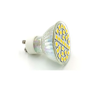 ieftine Spoturi LED-gu10 a condus lumina reflectoarelor 29 leds smd 5050 alb cald / alb rece 220-240v