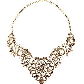ieftine Colier la Modă-Pentru femei Coliere Floare femei Aliaj Culoare ecran Coliere Bijuterii Pentru