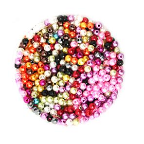 ieftine Kit-uri de Bijuterii-DIY bijuterii 2000 buc Χάντρες Plastic Rotund Round Shape Şirag de mărgele 0.4 cm DIY Coliere Brățări