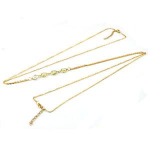 ieftine Ceasuri Damă-Corp lanț / burtă lanț femei Design Unic Petrecere Pentru femei Bijuterii de corp Pentru Casual Cristal Aliaj Auriu Argintiu