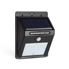 ieftine Aplice de Exterior-6led pir energie solară senzor de mișcare în aer liber perete lumina lămpii grădină impermeabil