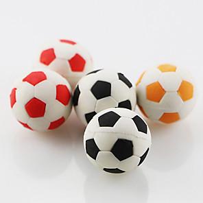 povoljno Oprema za crtanje i pisanje-slatka nogometni nogomet sastaviti guma gumicu gumica škola student djeca dar