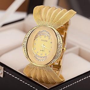 ieftine Produse Fard-Pentru femei Ceasuri de lux Ceas Brățară Diamond Watch Quartz Argint / Maro / Auriu imitație de diamant Analog femei Sclipici Modă Ceas Elegant - Argintiu Auriu