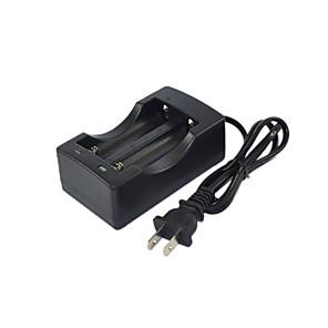 ieftine Conectoare & Terminale-18650 Slot dublu baterie de litiu de putere încărcător inteligent încărcător rapid (linia de încărcare dublu)