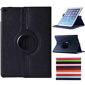 ieftine Carcase iPad-Maska Pentru Apple iPad Air Rotație 360 ° / Cu Stand / Auto Sleep / Wake Carcasă Telefon Mată PU piele