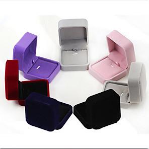 ieftine Împachetare Bijuterii & Ecrane-Cutii de Bijuterii - Modă Albastru Închis, Negru, Roșu 7 cm 7 cm 4 cm / Pentru femei