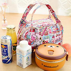 ieftine Cutii Depozitare Bucătărie-izolate termic picnic sac cooler tote prânz depozitare geanta de voiaj (culoare aleatorii)