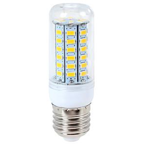 Χαμηλού Κόστους Λαμπτήρες LED τύπου Corn-ywxlight® 1200 lm e14 g9 e26 / e27 οδήγησε φώτα καλαμποκιού 56LED 5730smd ζεστό λευκό δροσερό λευκό οδήγησε λαμπτήρα ac 110-130v ac 220-240v