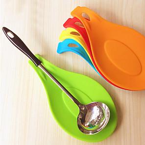 ieftine Ustensile Bucătărie & Gadget-uri-silicon lingura izolare mat loc de coș de tava coaster tava de gătit