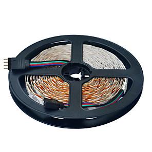 ieftine Benzi Lumină LED-Jiawen 5m lumini flexibile cu bandă led RGB tiktok lumini 300 leduri 2835 smd 10mm cuttable linkable dc 12v ip44