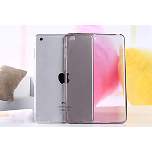 hesapli iPad Kılıfları/Kapakları-Pouzdro Uyumluluk Apple iPad Mini 5 / iPad Yeni Hava (2019) / iPad Air Şeffaf Arka Kapak Solid Yumuşak TPU / iPad (2017)