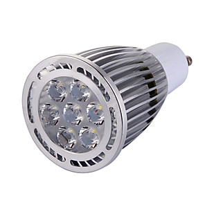 ieftine Spoturi LED-YWXLIGHT® 1 buc 8 W Spoturi LED 850 lm GU10 7 LED-uri de margele SMD Decorativ Alb Cald Alb Rece 85-265 V / 1 bc / RoHs