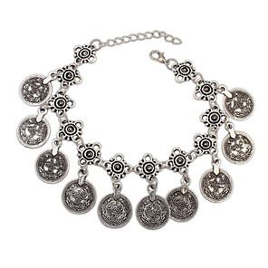 ieftine Brățări-Pentru femei Brățări cu Lanț & Legături Brățări cu Talismane Aliaj Bijuterii brățară Argintiu Pentru Petrecere Zilnic Casual