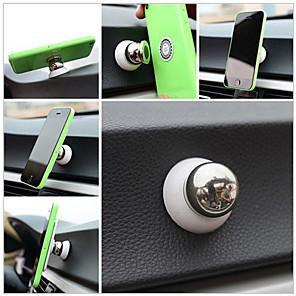 billige Telefonholder-Bil Universell / iPad mini / Mobiltelefon Monter stativholder 360° rotasjon / Magnetisk Universell / iPad mini / Mobiltelefon Metall Holder