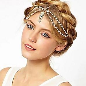 ieftine Bijuterii de Păr-Pentru femei Cordeluțe Pentru Nuntă Petrecere Zilnic Casual Aliaj