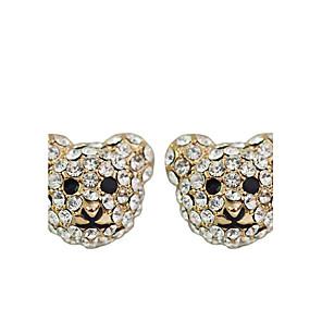ieftine Cercei-Pentru femei Cristal Cercei Stud Cristal cercei Bijuterii Auriu / Argintiu Pentru Petrecere Zilnic Casual