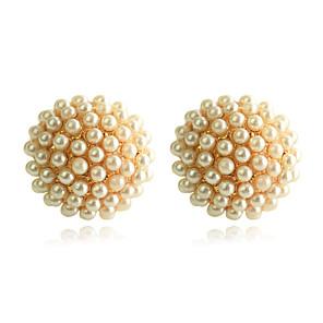 ieftine Ustensile & Gadget-uri de Copt-Pentru femei Cercei Stud Semințe de perle femei Perle Placat Auriu cercei Bijuterii Auriu Pentru Petrecere Zilnic Casual