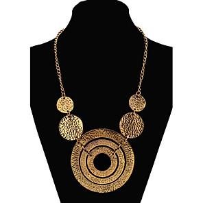 ieftine Colier la Modă-Pentru femei Coliere Colier lung, Declarație femei European Modă Aliaj Culoare ecran Auriu Coliere Bijuterii Pentru