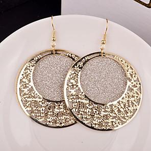 ราคาถูก ตุ้มหู-สำหรับผู้หญิง Drop Earrings เครื่องประดับชิ้นใหญ่ ส่วนบุคคล เกี่ยวกับเจ้าสาว Festival / Holiday ต่างหู เครื่องประดับ ทอง / สีเงิน สำหรับ งานแต่งงาน ปาร์ตี้ โอกาสพิเศษ ทุกวัน ที่มา