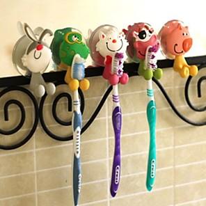 ieftine Gadget Baie-animal drăguț desene animate uction cupa toothbrush titularul baie acceorie aleatoare