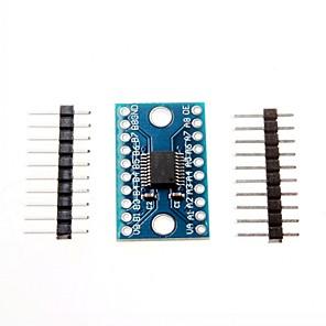 cheap Modules-3.3V 5V TXS0108E 8 Channel Logic Level Converter Convert TTL Bi-directional Mutual Convert