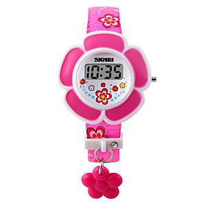 povoljno Ženski satovi-dame Narukvica Pogledajte Digitalni Umjetna koža Pink / Ljubičasta Šiljci za meso Šarm Moda - Crvena Pink Dvije godine Baterija Život / Maxell626 + 2025