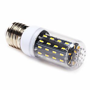 ieftine Becuri LED Corn-4 W Becuri LED Corn 3000-6000 lm E14 E26 / E27 T 56 LED-uri de margele SMD 4014 Alb Cald Alb Natural 220-240 V / 1 bc