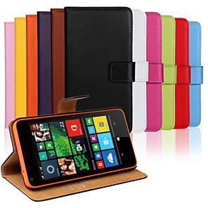 ieftine Carcase / Huse de Nokia-Maska Pentru Nokia Lumia 820 / Nokia Lumia 1020 / Nokia Lumia 625 Nokia Lumia 640 XL Portofel / Titluar Card / Cu Stand Carcasă Telefon Mată Greu PU piele