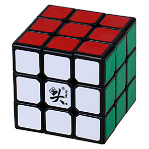 ieftine Cuburi Magice-Magic Cube IQ Cube DaYan 3*3*3 Cub Viteză lină Cuburi Magice Puzzle cub Alină Stresul puzzle cub nivel profesional Viteză Profesional Clasic & Fără Vârstă Pentru copii Adulți Jucarii Băieți Fete Cadou
