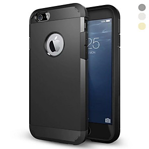 cheap Modules-Case For Apple iPhone 6s Plus / iPhone 6s / iPhone 6 Plus Shockproof Back Cover Armor Hard PC