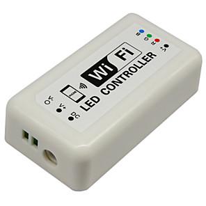 ieftine Întrerupătoare & Prize-hkv® controller controler fără fir wifi rgb intrare controler 12-24v pentru banda rgb condus
