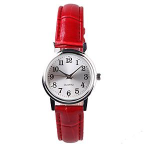ieftine Bijuterii de Păr-Pentru femei Ceas de Mână Quartz Piele PU Matlasată Roșu Rezistent la Apă Analog femei Modă Elegant Un an Durată de Viaţă Baterie / Tianqiu 377