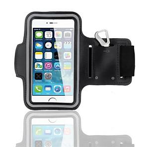 Недорогие Универсальные чехлы и сумочки-Кейс для Назначение iPhone 6s / iPhone 6 С ремешком на руку Мягкий текстильный